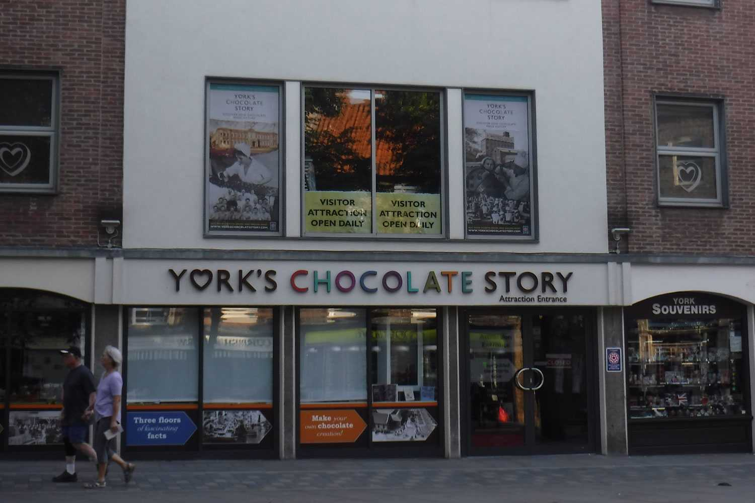 Entrance to York's Chocolate Story