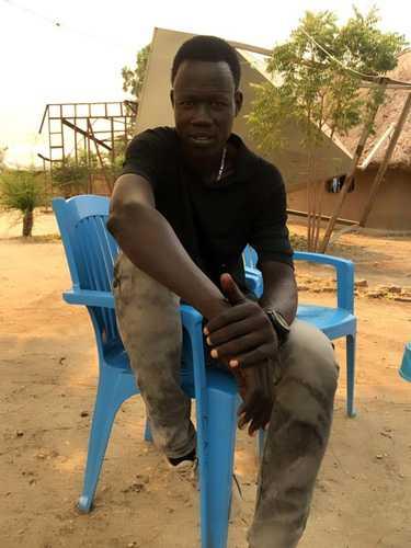 martin in Juba