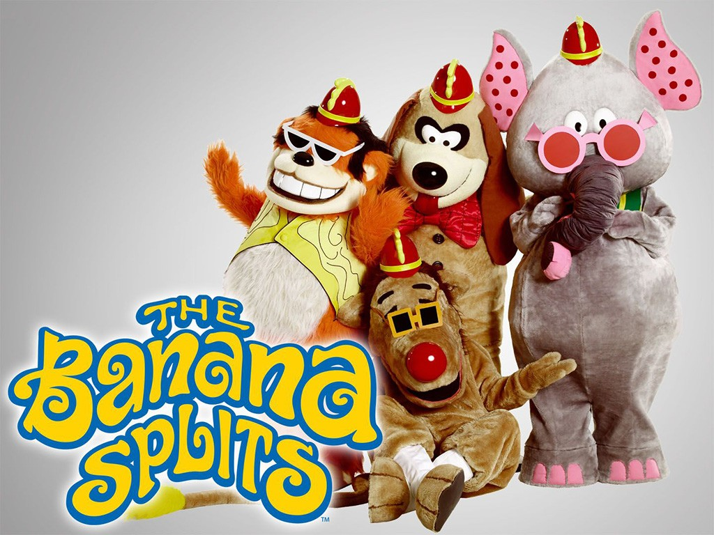 The Banana Splits Show Children's TV series 1970s